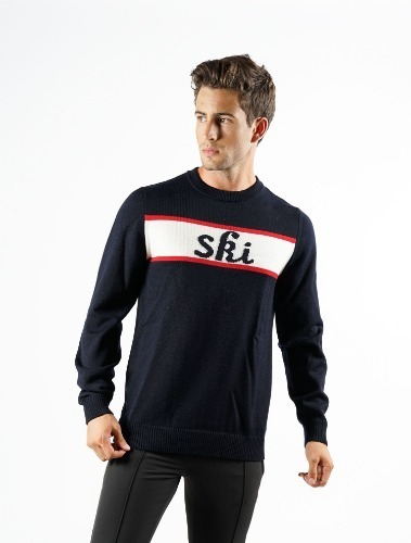 SKI OUT MEN KNITTED SWEAT