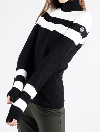 STRIPE WOMEN KNITTED SWEAT