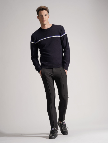 MEN BRIEY ROUND NECK SWEATER